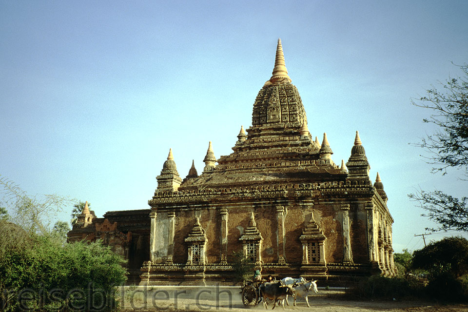 Small temple in Bagan
