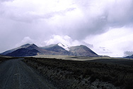 View of the Chacaltaya glacier
