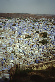Fascinating View of the Blue Town (Jodhpur)
