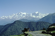 View of the Himalaya from Chopta
