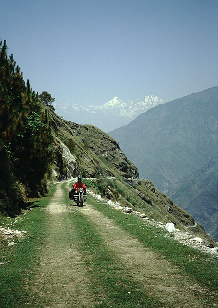 from Delhi into the Himalayas