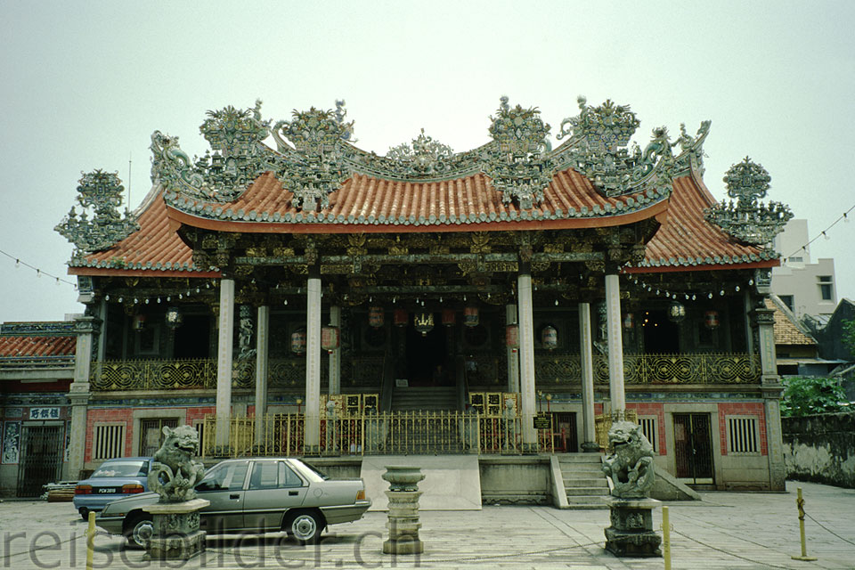 Chinese temple in Georgetown, Penang