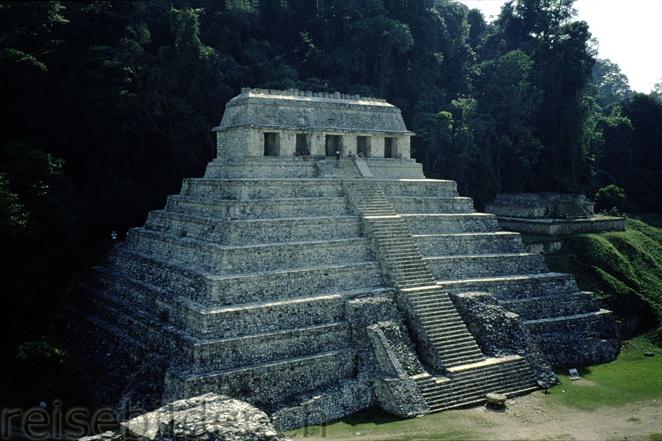 Pyramid of the Inscriptions in Palenque