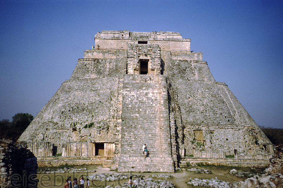 Pyramid of the Sorcerer in Uxmal