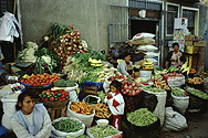 At the market in Ayacucho