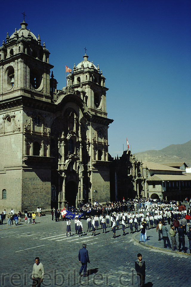 The Iglesia La Compañia in Cusco