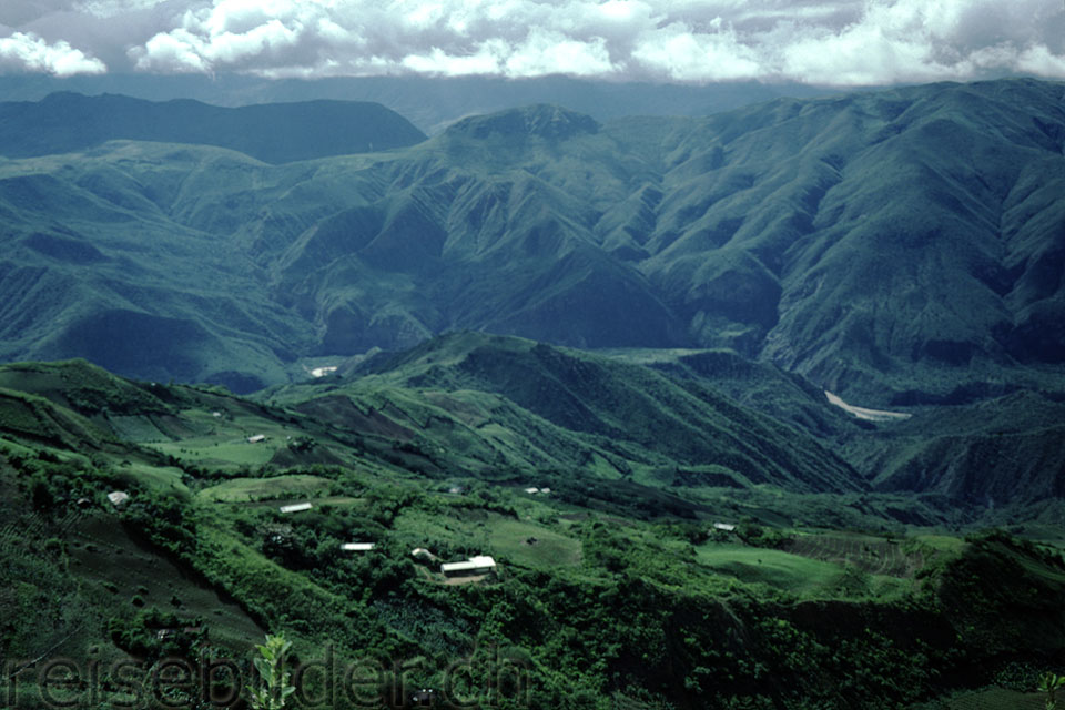 In the Andes between Popayán and Ipiales