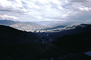 View of La Paz (Alt. 3650m)