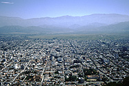 View of Salta in northern Argentina