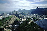 View of the Corcovado from the Sugar Loaf