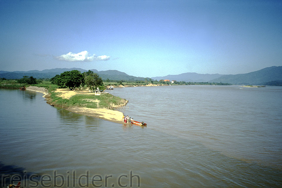 """Golden Triangle"" (Border of Burma, Laos and Thailand)"